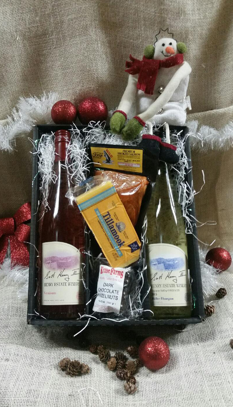 Sleigh Ride Snack Gift Box